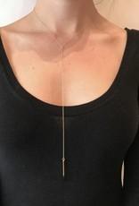 Necklace- Burnt Matchstick