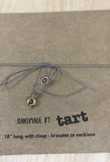 Tart - Necklace + Intention Card- Jade