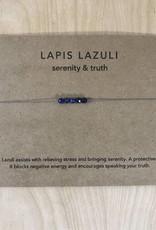 Tart - Necklace + Intention Card- Lapis Lazuli
