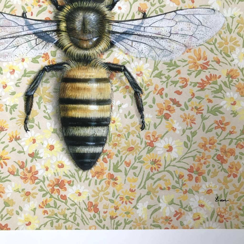 Print- Honeybee