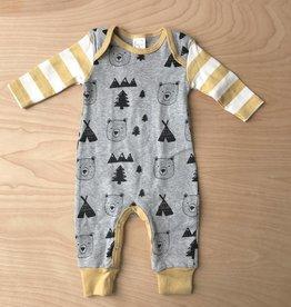 Baby Romper- Beary Wild