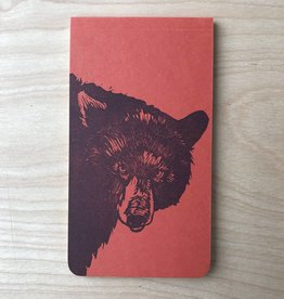 Notebook- Bear Linocut