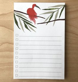 Pen+Pillar Notepad- Red Bird