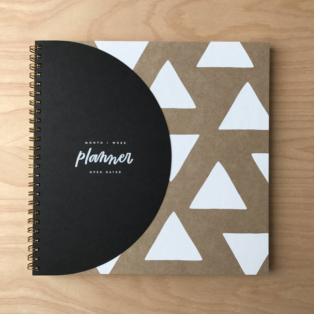 Worthwile Paper Planner- Geometric Design