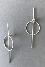 Earrings- 50/50 Silver