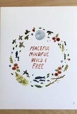 Little Truths Print- Peaceful Art  8 1/2 x 11
