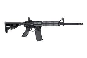 "Smith & Wesson 223 Rem/5.56 NATO 16"" 30+1 6-Pos Blk Stk Matte"