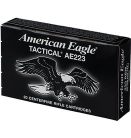 American Eagle 20 Round 223 55 Gr Rifle Cartridges