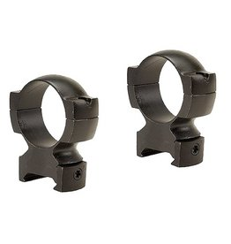 Weaver Grand Slam Rings 30mm High 30mm Diameter Matte Black
