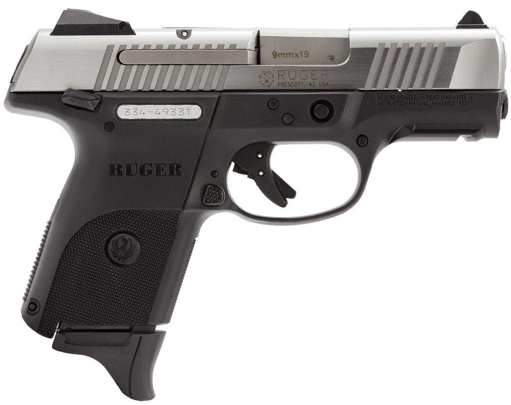 "RUGER Semi Auto 9mm 3 1/2"" Pistol"