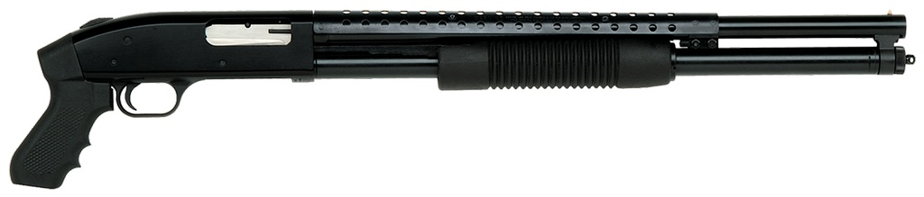 "Mossberg 500 Pump 12 ga 20"" 3"" Black Synthetic Blued"