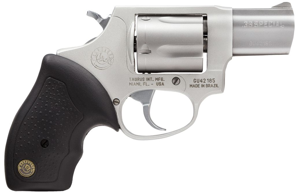 """Taurus Ultra-Lite 38 Special 2"""" 5rd Fixed Sights Rubber Grip SS"""
