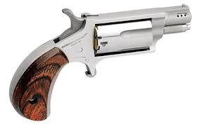 """North American Arms NAA NAA22MSP Ported 22 Magnum 1.125"""" 5rd Rosewood Grip SS"""