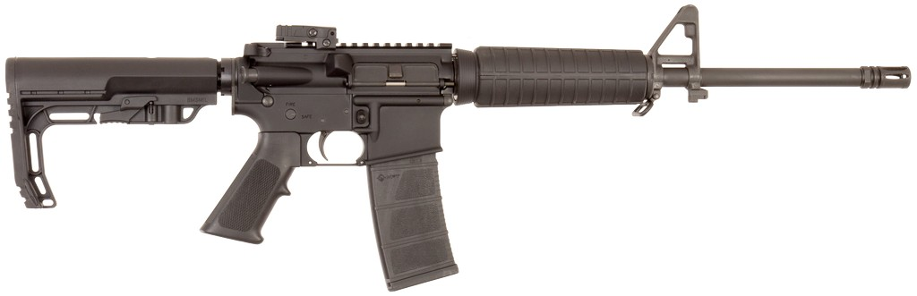 "Armalite M-15 Mission First Tactical SA 223 Remington/5.56 NATO 16"" FS 30+1 6-Pos MFT BMS Stk Black"