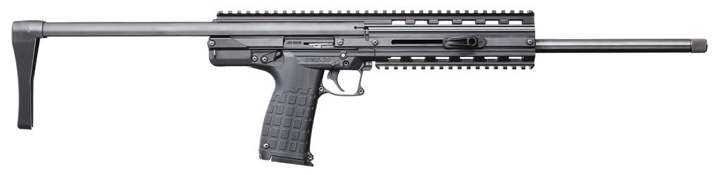 """Keltec 22 WMR Carbine Semi-Auto 22 Magnum 16.1"""" 30+1 Adj Stk Blk"""