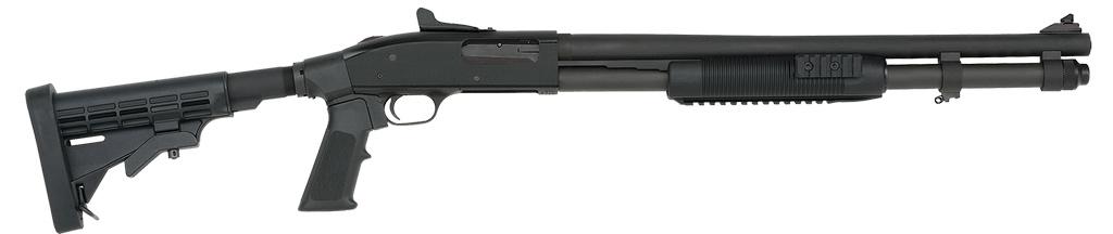 "Mossberg 590 Pump 12ga 20"" 3"" 8+1 6Pos Aluminum Stk"