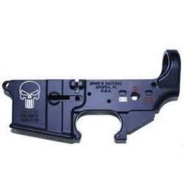 Spikes Tactical Spikes Stripped Lower Punisher AR-15 Multi-Caliber Black