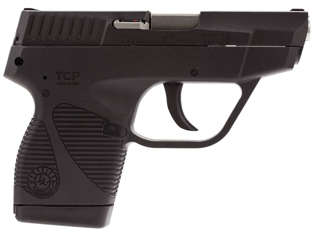 "Taurus 380 ACP 2.84"" 6+1 No Case/1 Mag Poly Grip Blued"