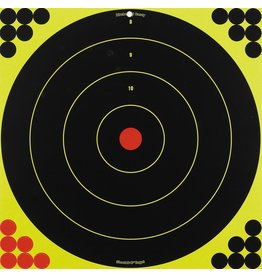 "Birchwood Casey Shoot-N-C Self-Adhesive Targets 12"" and 17.25"" Bullseye"
