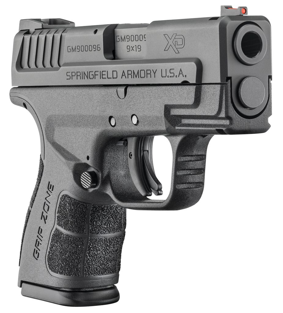 """Springfield Mod.2 Sub-Compact Double 9mm 3"""" 13+1/16+1 w/X-Tension Black"""