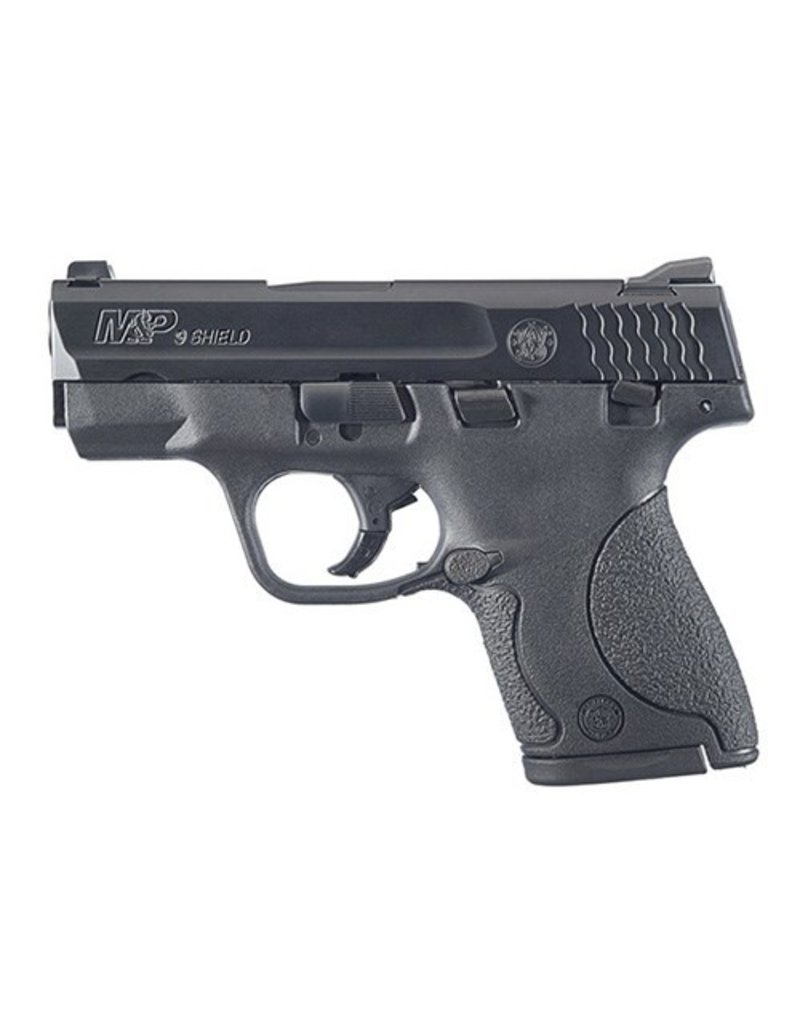 """Smith & Wesson M&P Shield Double 9mm Luger 3.1"""" 7+1/8+1 Black Polymer Grip Black Stainless Steel"""