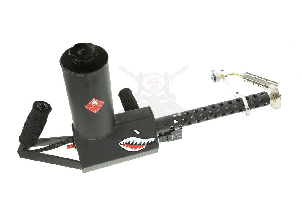 Ion Productions Team XM42 Flamethrower Gen 3 - Powdercoated Flat Black RH