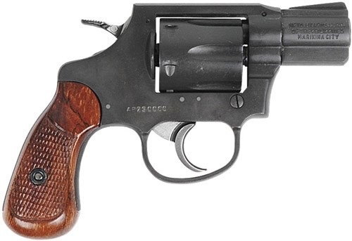Rock Island REVOLVER 38SPC PRKZD 2&quot;<br /> PARKERIZED/WOOD 6 RND CYLINDER<br /> 38 Special