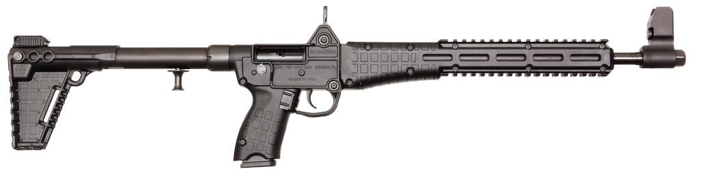 "Keltec Sub-2000 Semi-Automatic 40 S&W 16.2"" 10+1 Synthetic Black Stk Black"