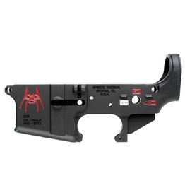 Spikes Tactical Lower Forged Spider Multi-Caliber AR Platform Black
