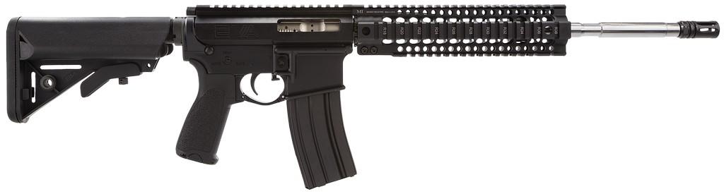 "2 Vets Arms 5.56 NATO Optics Ready 16"" 30+1 SOPMOD Stk Blk"