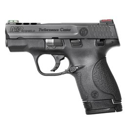 """Smith & Wesson 40 Smith & Wesson (S&W) 3.1"""" Ported 6+1/7+1 (Grip Extension) Black Polymer Grip Black Stainless Steel"""