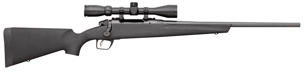 "Remington Scope Bolt 243 Winchester 20"" 4+1 Synthetic Black Stk Blued"
