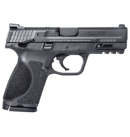 """Smith & Wesson M2.0 Double 9mm Luger 4"""" 15+1 Black Interchangeable Backstrap Grip Black Armornite Stainless Steel"""