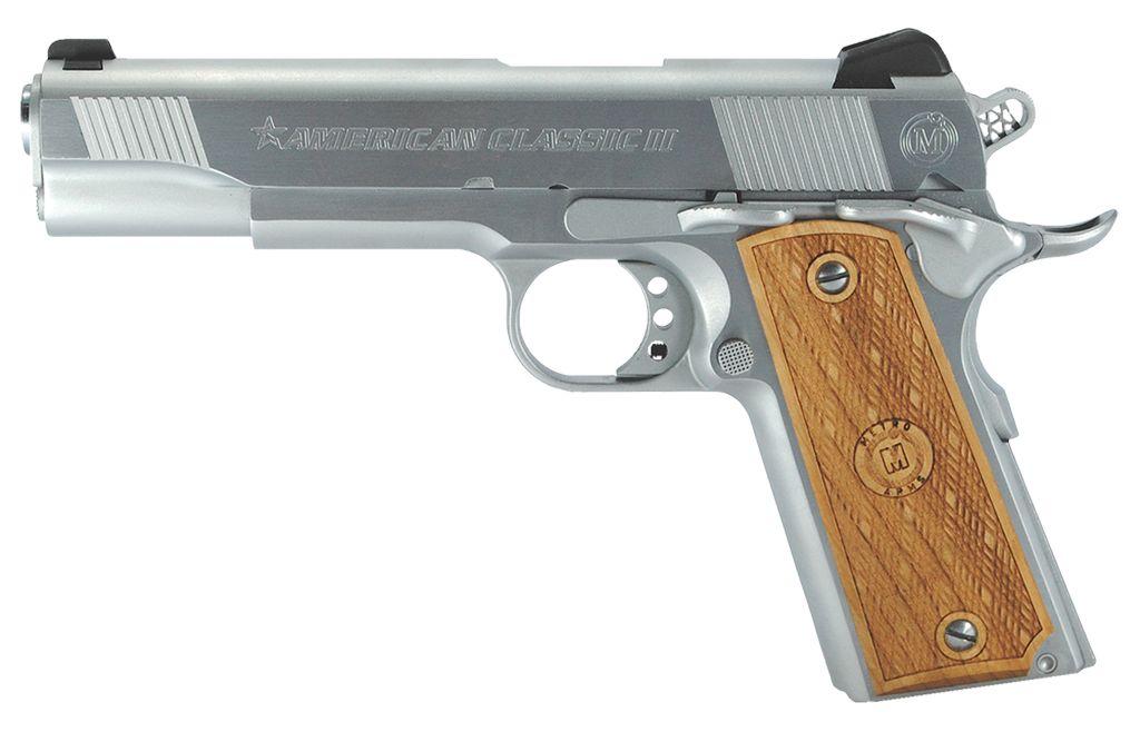 Metro Arms .45 Chrome Finish