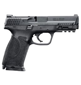 "Smith & Wesson M&P 9 M2.0 Double 9mm Luger 4.25"" 17+1 Black Interchangeable Backstrap Grip Black Stainless Steel"
