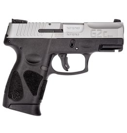 """Taurus 9mm Luger Single/Double 3.2"""" 12+1 Black Polymer Grip Stainless Steel"""