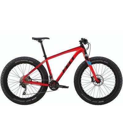 Felt DD 30 Fat Bike 2017 Gloss Red (Matte Black, Gloss Cyan) 18