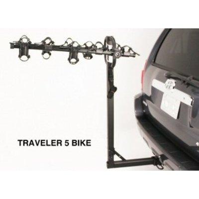 "Hollywood HR9200 Traveler 2"" Hitch -5  Bike Rack"