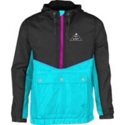 Ski The East Men's Gale Force Half-Zip Windbreaker 2018