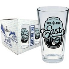 Ski The East Sterling Pint Glass 4-Pack