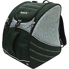 Swix Road Trip Tri Pack Boot Bag Black/Charcoal 2019
