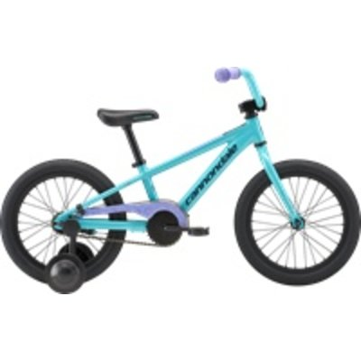"Cannondale Girls' 16"" Trail Single Speed Turquoise 2018"