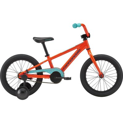 """Cannondale Youth 16"""" Trail Single Speed Acid Red (ARD) 2018"""