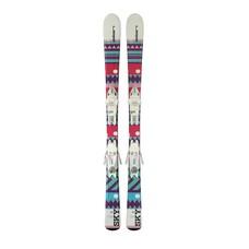 Elan Kids' Sky QS Ski w/EL 7.5 AC Shift B78 White Binding 2019