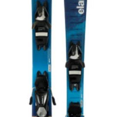 Elan Jr Pinball Pro QS Ski w/ EL 7.5 AC Shift  Black/Silver Binding 2018