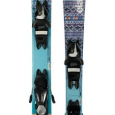 Elan Jr Twist Pro QS Ski w/ EL 7.5 AC Shift Black/Silver Binding 2018