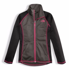 The North Face Girls' Tech Glacier Full Zip 2018