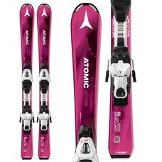 Atomic Jr Vantage III Girl Skis w/C 5 Bindings 2018