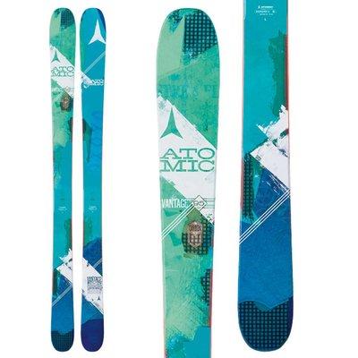 Atomic Women's Vantage 95 C Skis (Ski Only) 2018