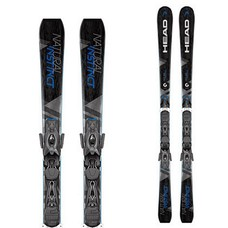 Head Natural Instinct Skis w/PR11 MBS 85mm Brake 2018